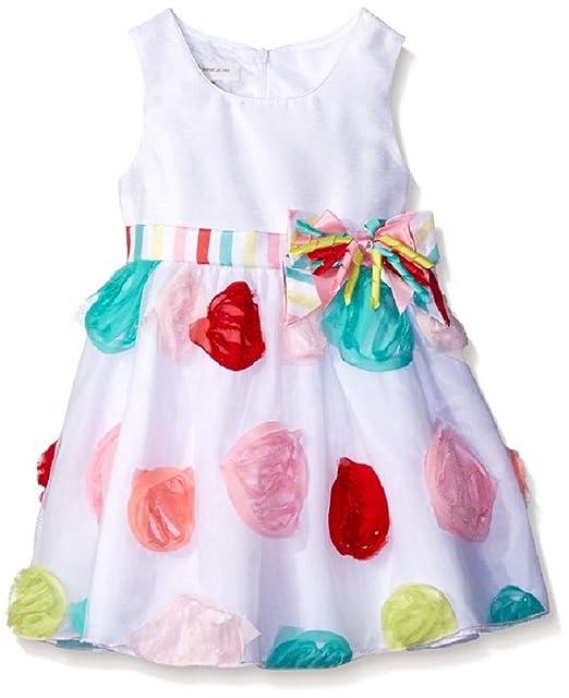 Amazon.com: Bonnie Baby para bebé niña vestido de fiesta de ...