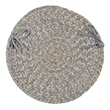 Tremont TE19 Chair Pad, 15 by 15-Inch, Gray, 4-Pack