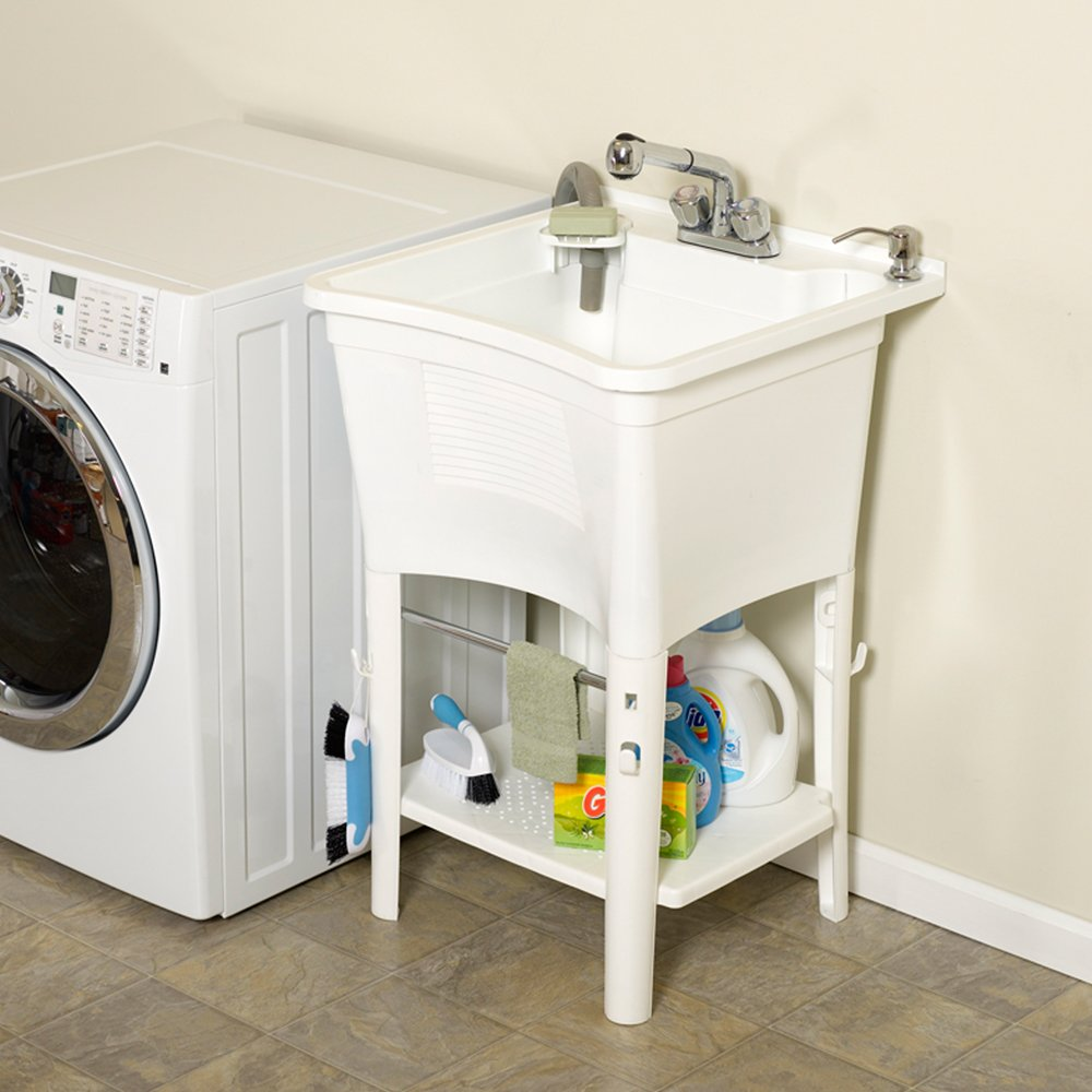 plumbing en artika tub with v cabinet product laundry
