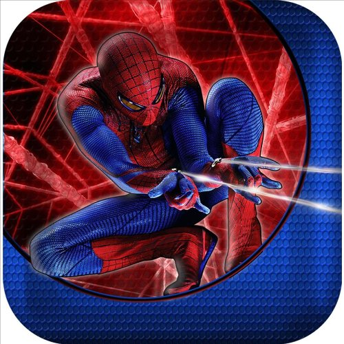 The Amazing Spider-Man 3D Square Dessert Plates (8) Party Accessory]()