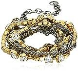 Sorrelli Lisa Oswald Collection It's a Wrap Bracelet,20'' + 3'' Extender