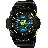 Kids Watches, Digital Analog Sports Waterproof...