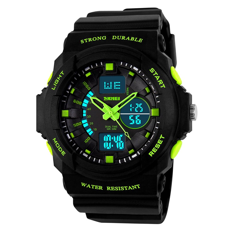Armbanduhr kinder  Kinderuhren Jungen,Kinder Digital Uhren Sport Wasserfest Digital ...