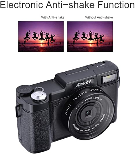fghdfdhfdgjhh Ajuste Amkov AMK-R2 24MP HD 1080P 3.0