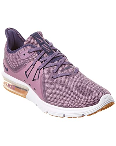 Nike WMNS Air Max Sequent 3 Womens 908993 501 Violet DUSTNeutral Indigo Obsidian Running Shoes (8.5 B US)