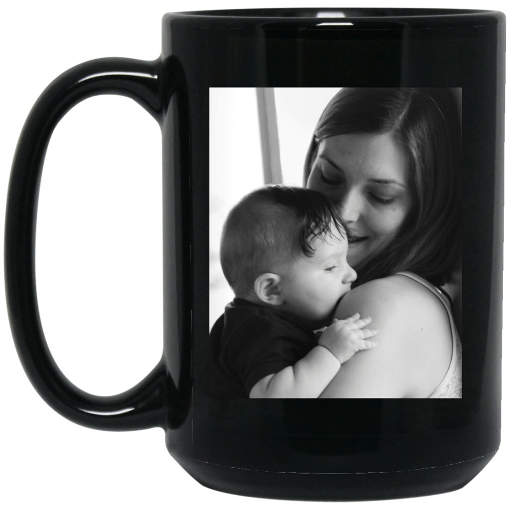 Personalized Coffee Mug for Father Day - Add Your Photo/Logo to Customized Travel, Beer Mug - Great Quality for Gift (Black, 15 oz) by BestEquips (Image #10)