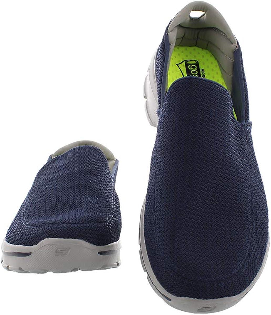 Skechers Go Walk 3, Men's Low-Top Sneakers Navy Gray
