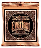 Best Ernie Ball String Lights - Ernie Ball Everlast Light Coated Phosphor Bronze Acoustic Review