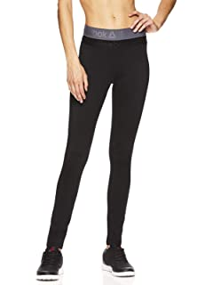 36b7564afb Amazon.com: Reebok Women's Fleece Lined Legging - Full Length ...