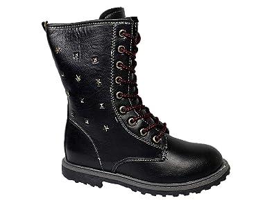 934077d5d5bc79 Badoxx Kinder Winterschuhe Winterstiefel Mädchen Stiefel Boots Warmfutter  26-37 Schwarz 28  Amazon.de  Schuhe   Handtaschen