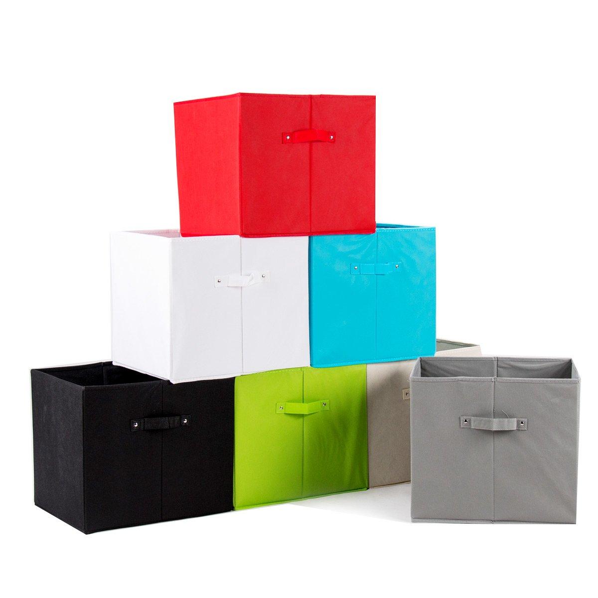 Eine bunte Auswahl von einem Aufbewahrungsbox-Modell
