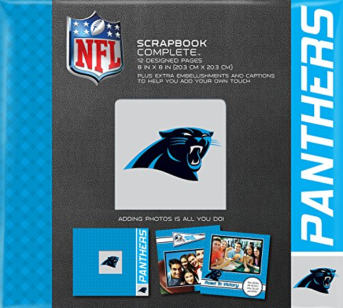 C.R. Gibson Scrapbook Complete Kit, Small, Carolina Panthers (N878433M)