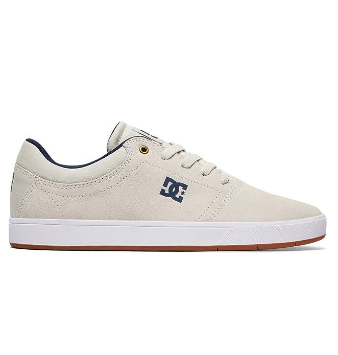 DC Shoes Crisis Sneakers Skateboardschuhe Herren Erwachsene Weiß (Tan/Gum)