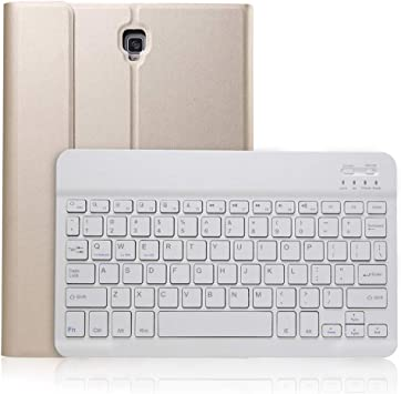 Funda Con Teclado Para Samsung Galaxy Tab S4 10 5 Teclado Retroiluminado Inalámbrico Bluetooth Con Cubierta Ligera De Pu Y Soporte Para Lápiz Para Modelo Smt830 T835 Computers Accessories