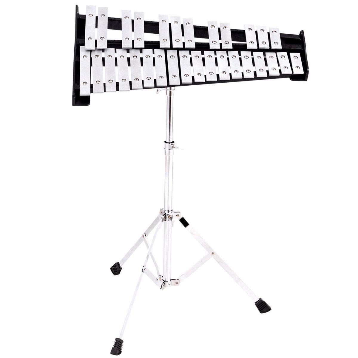 USA_Best_Seller 30 Notes Percussion Glockenspiel Bell Kit Removable Music Desk Carrying Case Durable Modern Kids Children Adults Musical Instrument