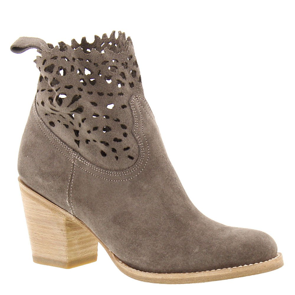 FRYE Women's Grey Suede Victoria Cut Short Boot Round Toe - 79117-Ept B01N4VNGUP 7 B(M) US|Elephant Soft Oiled Suede