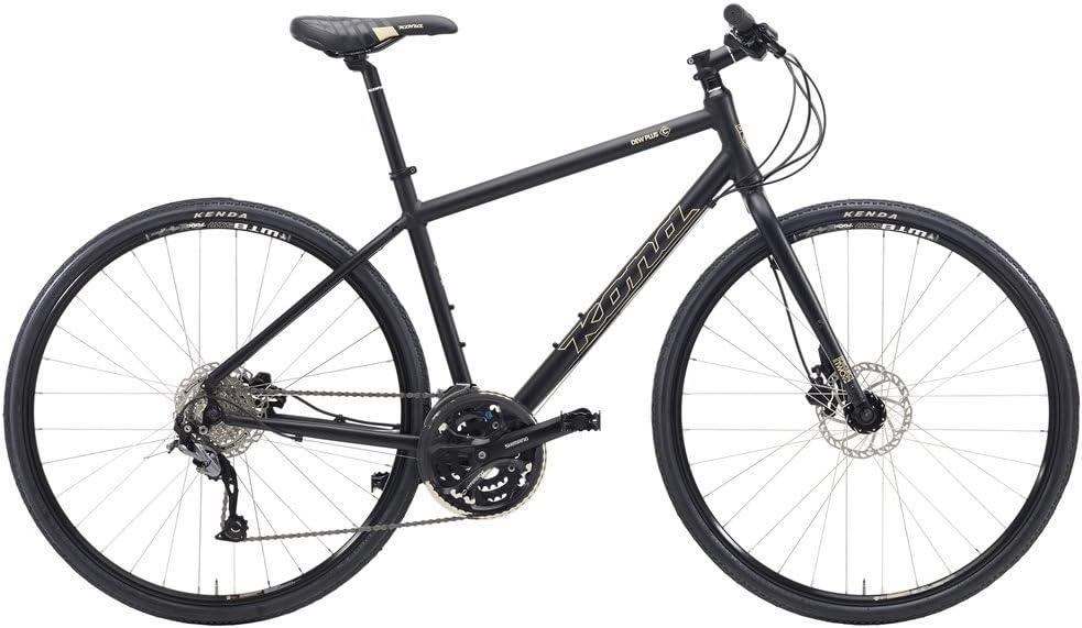 Kona Dew Plus - Bicicletas híbridas hombre - negro Tamaño del ...