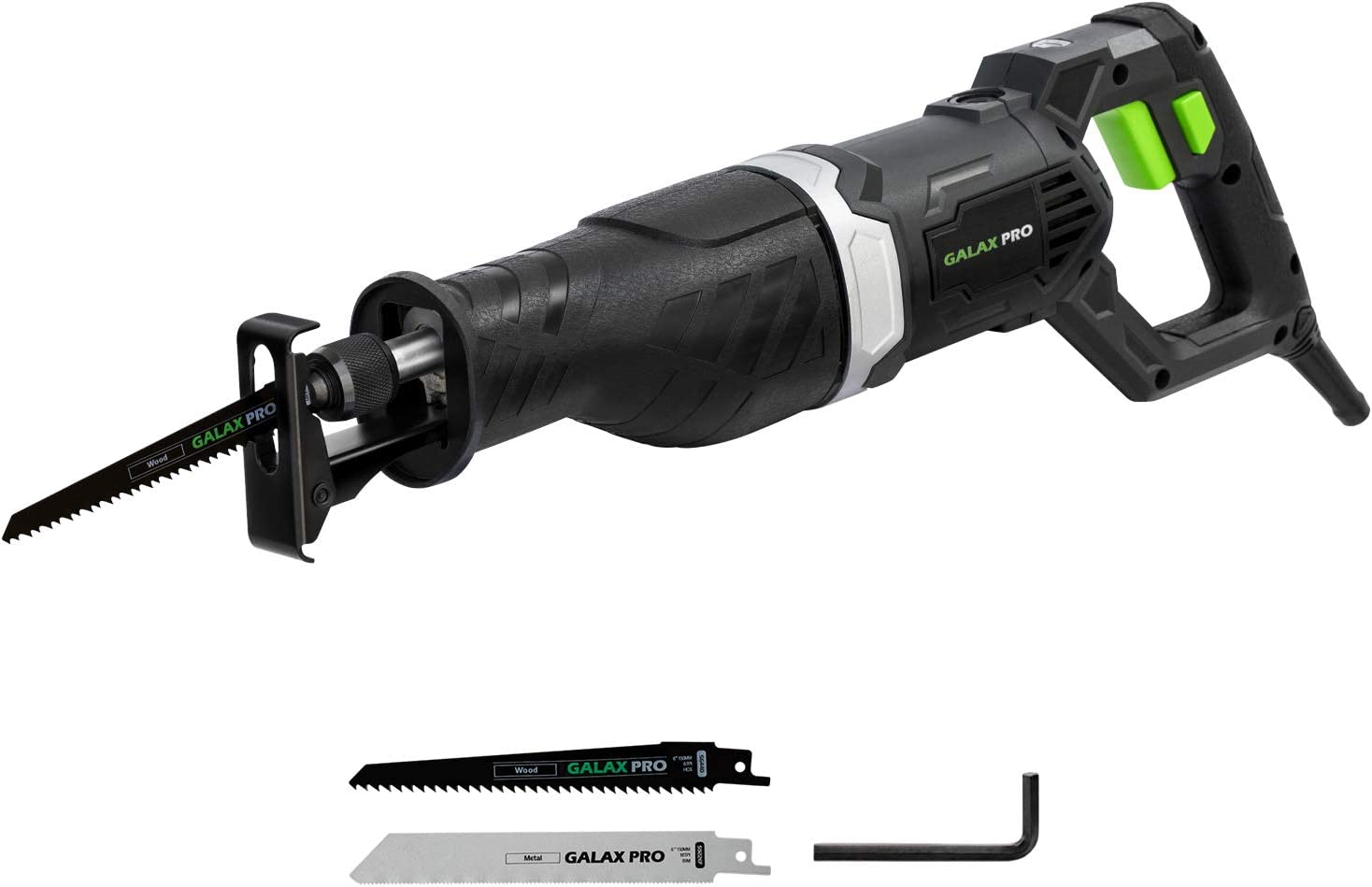 Reciprocating Saw 900W Variable Speed Electric Corded Sabre Cutting Wood Metal