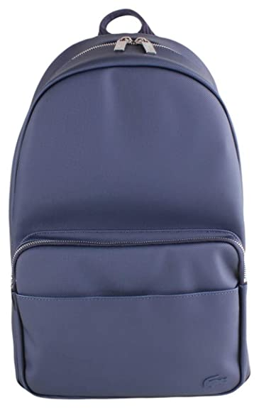 938669a7db9 Amazon.com: Lacoste Mens Petit Pique Backpack - Peacoat Navy: Shoes