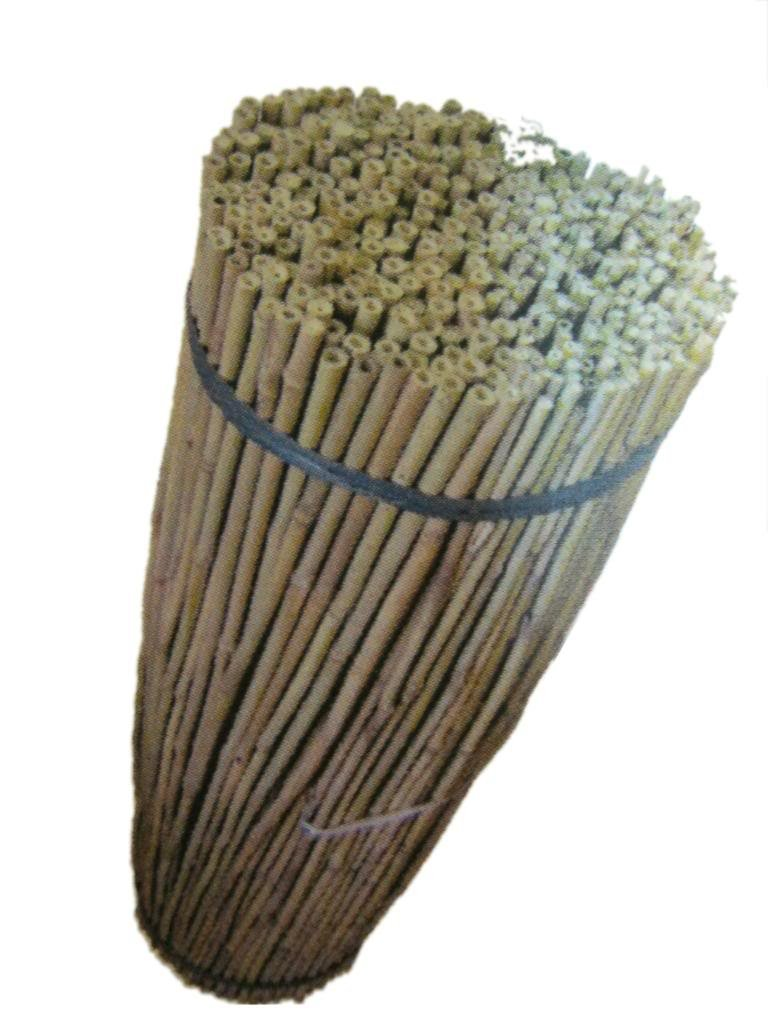 JVL Natural Bamboo Garden Canes, Brown, 61 cm, Pack of 20 05-002