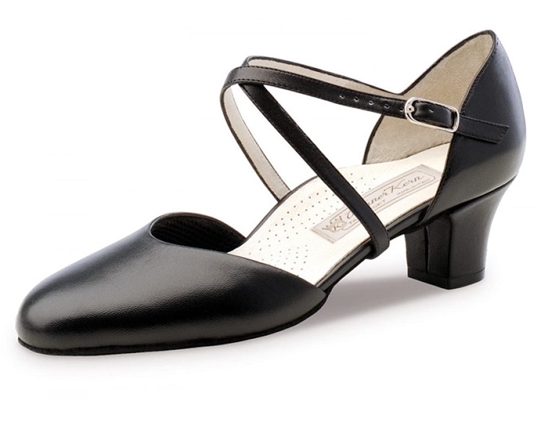 Werner Kern Womens Debby 4.5 Black Leather (Comfort Line) B008DCQFR4 6 F(M) UK / 9 B(M) US