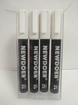 newdoer color blanco tiza líquida marcadores - niño acogedor ...