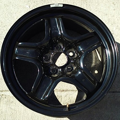 18 INCH 2014 2015 14 15 CHEVY IMPALA BLACK OEM STEEL WHEEL RIM 5611 9599030 18X8 5X120
