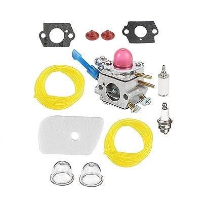 Amazon com: Podoy 128LD Carburetor Compatible with Husqvarna