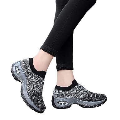 Berimaterry Zapatillas de Mujer Mujer Mocasines Plataforma ...