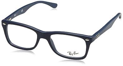 Ray-Ban Women's RX5228 Eyeglasses Sand Blue 50mm