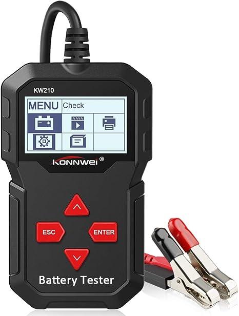 12V Car Battery Load Tester LED Auto Scanner Alternator Analyzer Diagnostic Tool