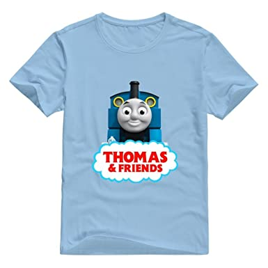3c8bae3e6 Image Unavailable. Image not available for. Colour: Men's Thomas The Tank  Engine & Friends T-Shirt Pre-cotton Funny Medium