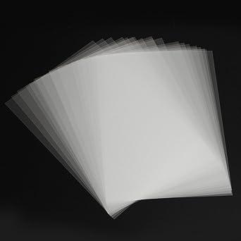 ExcLent 20Pcs A4 Inkjet Film Serigrafía Papel Transparente Pcb ...