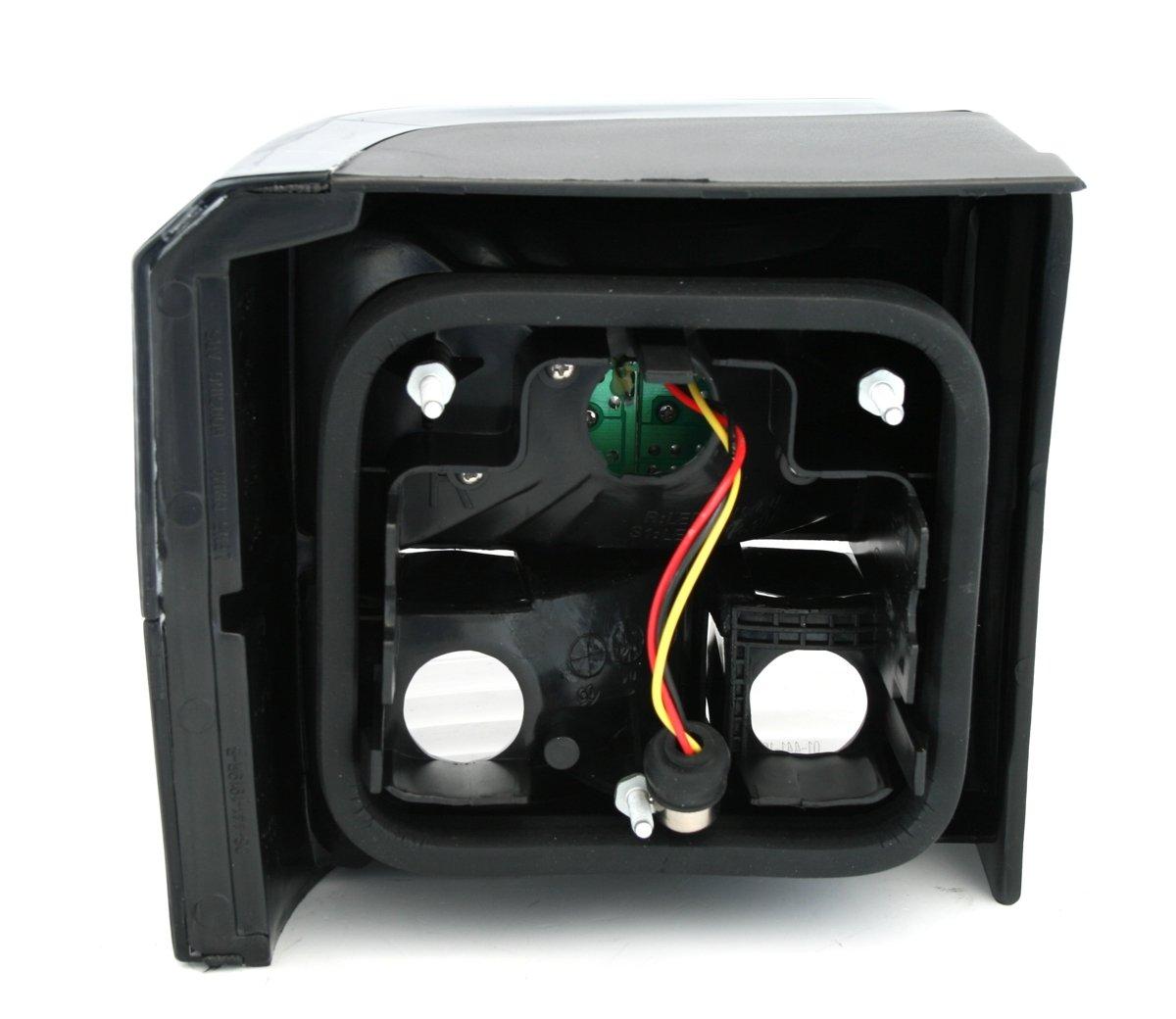 AD Tuning GmbH /& Co KG 960423/Feux arri/ère LED Set Noir//Verre Transparent