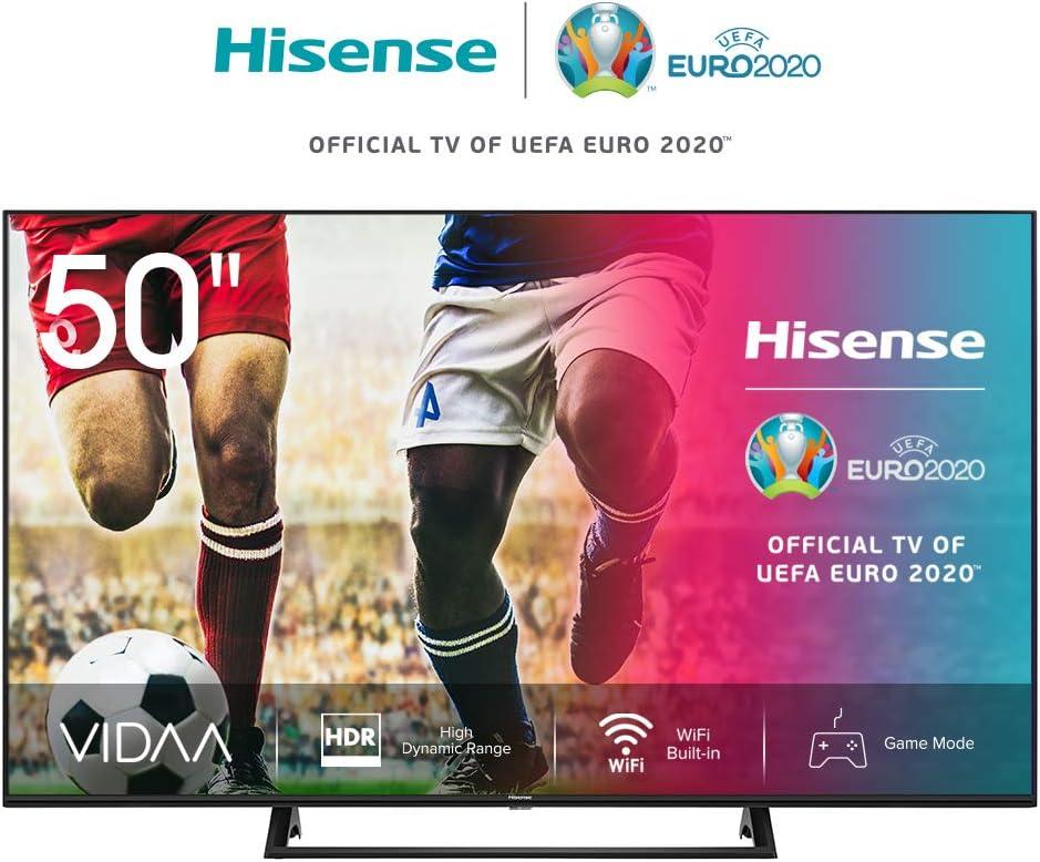 Hisense UHD TV 2020 50AE7200F - Smart TV Resolución 4K con Alexa ...