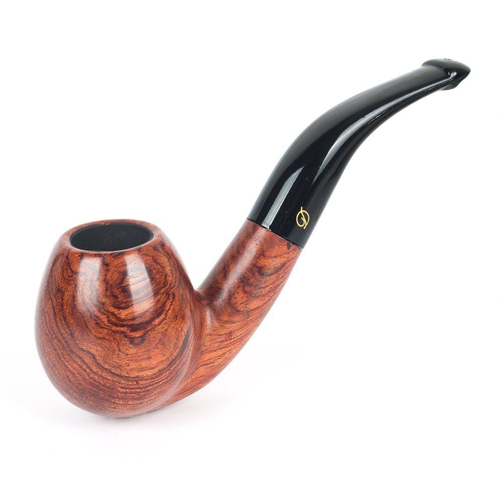 Classic Rosewood Wooden Tobacco Smoking Pipe D010