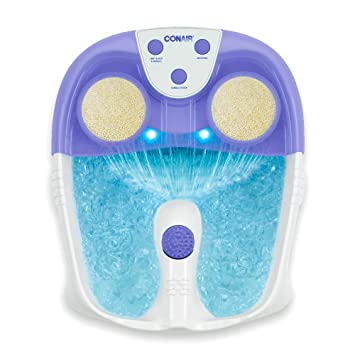 e31d206d6c64 Amazon.com  Conair Active Life Waterfall Foot Spa with Lights and Bubbles