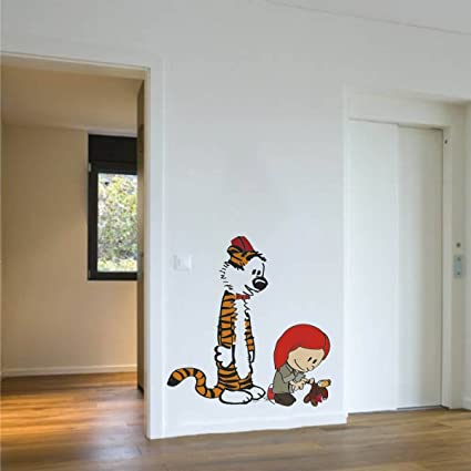 Amazoncom ZigRocket Calvin and Hobbes Story DIY Wall Sticker