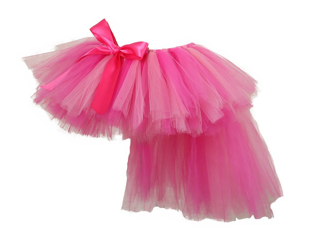 Tutu Dreams Pink Pony Tutu Skirt for Teens Girls Christmas Party (X-Large, pink)