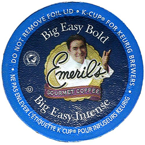 Emeril K-cups (Emeril'S Keurig Big Easy Bold K-Cups 24 Ct)