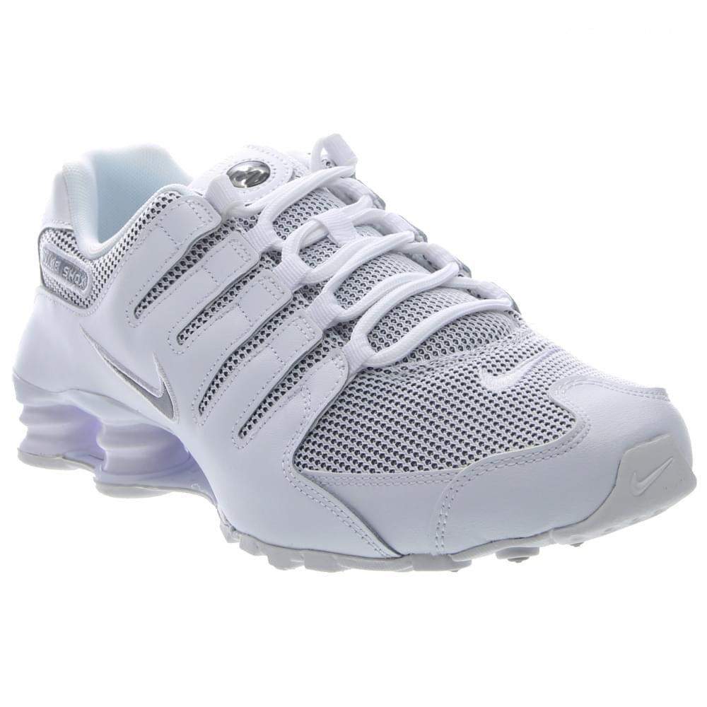 finest selection a5136 387ed Amazon.com  Nike Shox NZ Mens SE White 833579-100  Fashion S