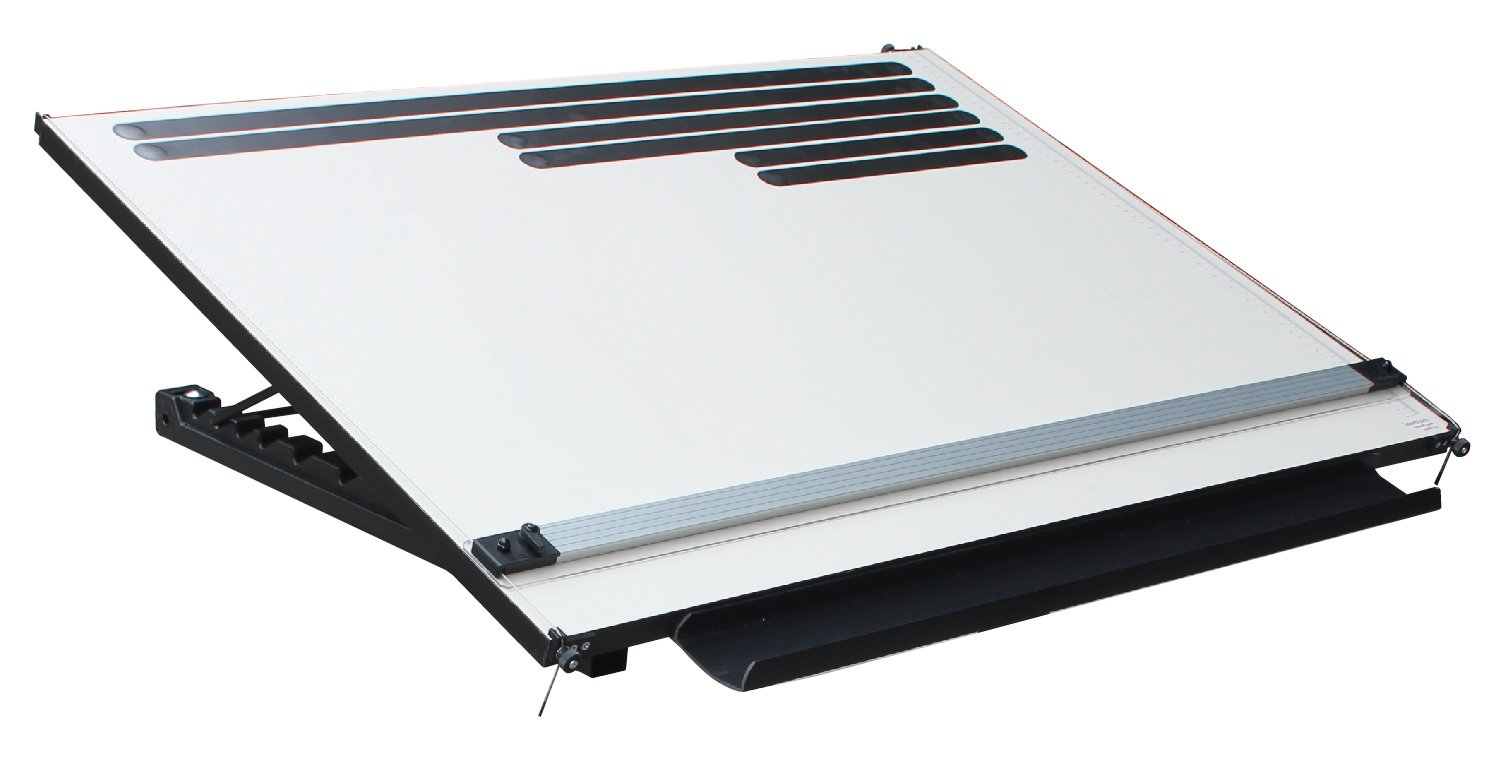 PARAEDGE 153PR A1 WIDE Straightedge Portable Desktop Adjustable Angle Drafting Board