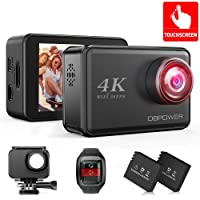 Deals on DBPOWER D5 Native 4K EIS Action Camera