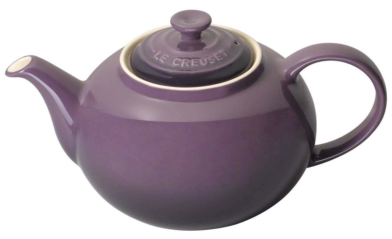 Le Creuset Stoneware Classic Teapot, Almond, 1.3 Litre 91010013810000 Serveware_Teapots_Kettles Tabletop breakfast collection