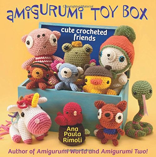 Amigurumi Toy Box Crocheted Friends product image