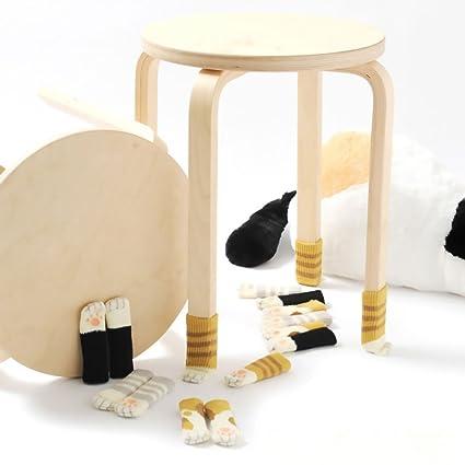 Lovely muebles de diseño de pata de gato de lana para tejer calcetines/pata de