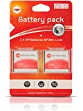 2 x batteries NP-BN1 NPBN1 MP EXTRA ® pour SONY