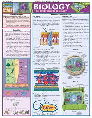 Biology: Reference Guide (Quickstudy: Academic)