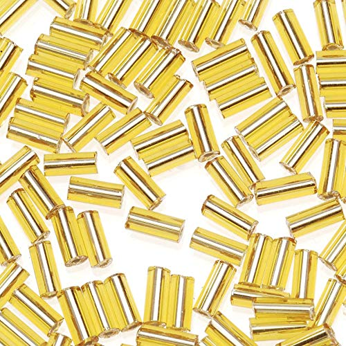 Jewelry Designer 1018-22 Bugle Beads Gold 10.0 100G (Jewelry Designer Beads)
