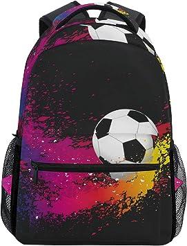 Balón de fútbol Fondo Mochila Escolar para niños Niñas Niños Bolsa ...